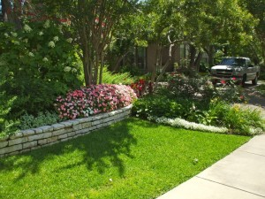 In any garden design, finely crafted stone and stone work lend character to a setting